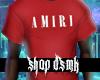 Red Amiri Shirt