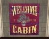 Mountain Cabin Sign