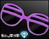 =D shutter shades:purple