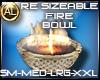 FIRE BOWL RE SIZEABLE