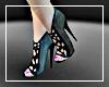 Aqua Glam Heels