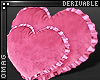 0 | Heart Ruffle Pillows