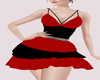 *HC* Red and Black Dress