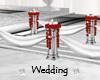 Wedding Walk Red Roses