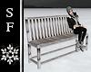 SF~ Snowy Winter Bench