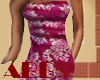 Metallic lace mini dress