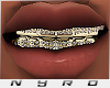 18k Plated Gold Grills