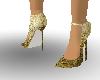 gold fx heels