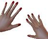 red nails Nail polish