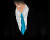 ||Blk Suit w/ Teal Tie||