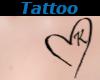 Tattoo Chest K Heart