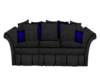 Blue Snake skin couch1