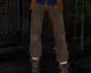Merlin pants light brown