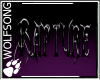 WS ~ Rapture Wall Sign