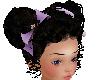 camo bow purple