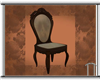 Blk Walnut Ant. Chair