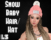 Snow Baby Hair/Hat