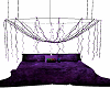 Black And Purple Bed