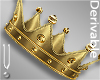 -V- Queen Gold Crown