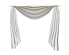 White Animated Curtains