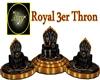 Royal 3er Thron