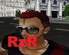 [RzR] black/red hair