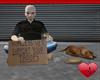 Mm Homeless Vet & Dog
