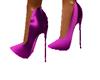 Purple Spike Heels