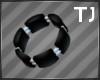 Black Silver BraceletL