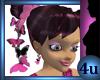4u Pink Butterfly Earrin