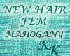 (KK)JENN MAHOGANY BRWN