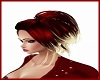 Red & White Hairstyle
