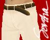 :S: Cream Pants