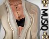 M| Femi Gown Cream Med