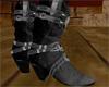 Her Cowboy Boots Black