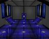 Blue Snake Skin Room
