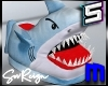! Angry Shark Slippers
