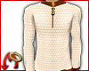 Zip Sweater Creme