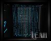 xLx Blue Beaded Curtain