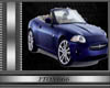 Blue car pic