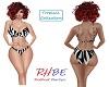RHBE.Zebra Print Bikini