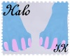 {IK}Halo Feet F