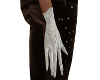 White Wedding Lace Glove