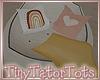 T. Poppy Patch Beanbag