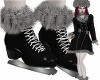 Greta Ice Skates Black