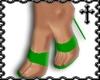 * Green Strap Heels V2