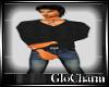 Glo* V~Neck KnitBlack