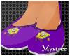 (M) Spongebob Slippers