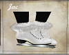 JAC..ICE SKATES WHT FUR