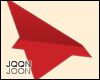 Paper plane(red)